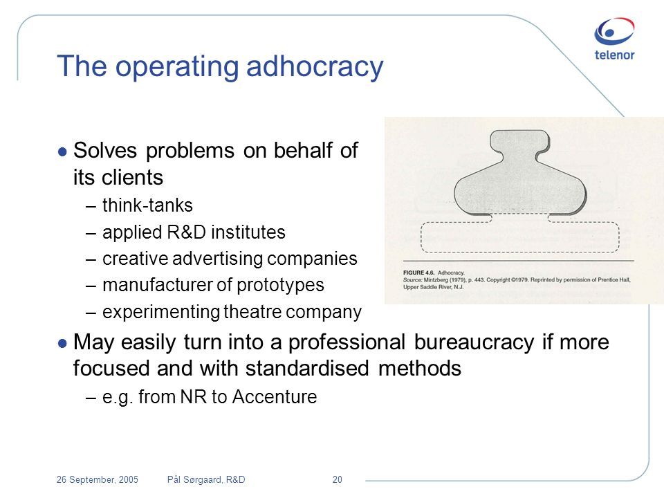 Adhocracy vs Bureaucracy Characteristics