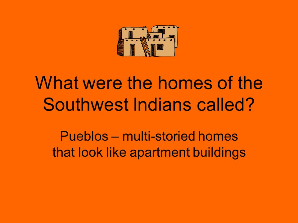 What were the homes of the Southwest Indians called