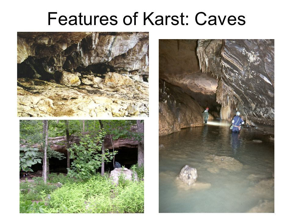 Features of Karst: Caves