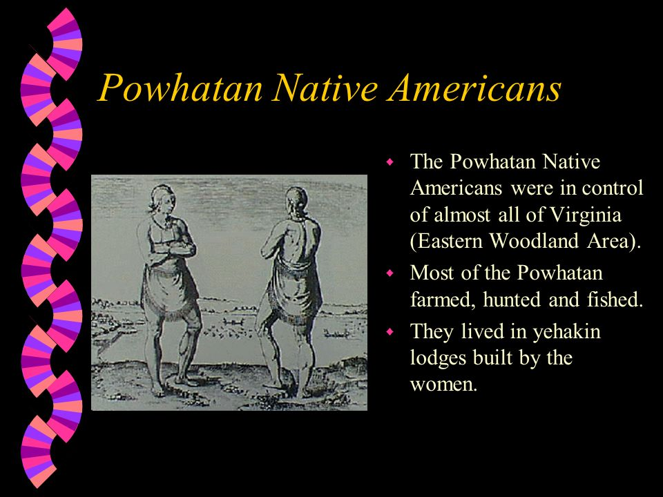 Powhatan Native Americans