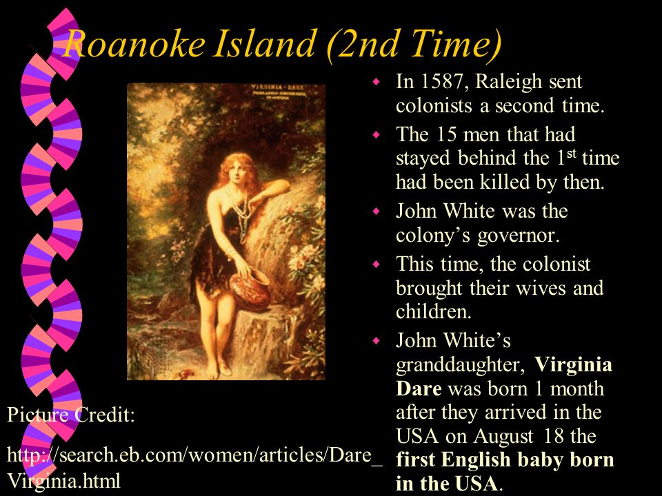 Roanoke Island (2nd Time)