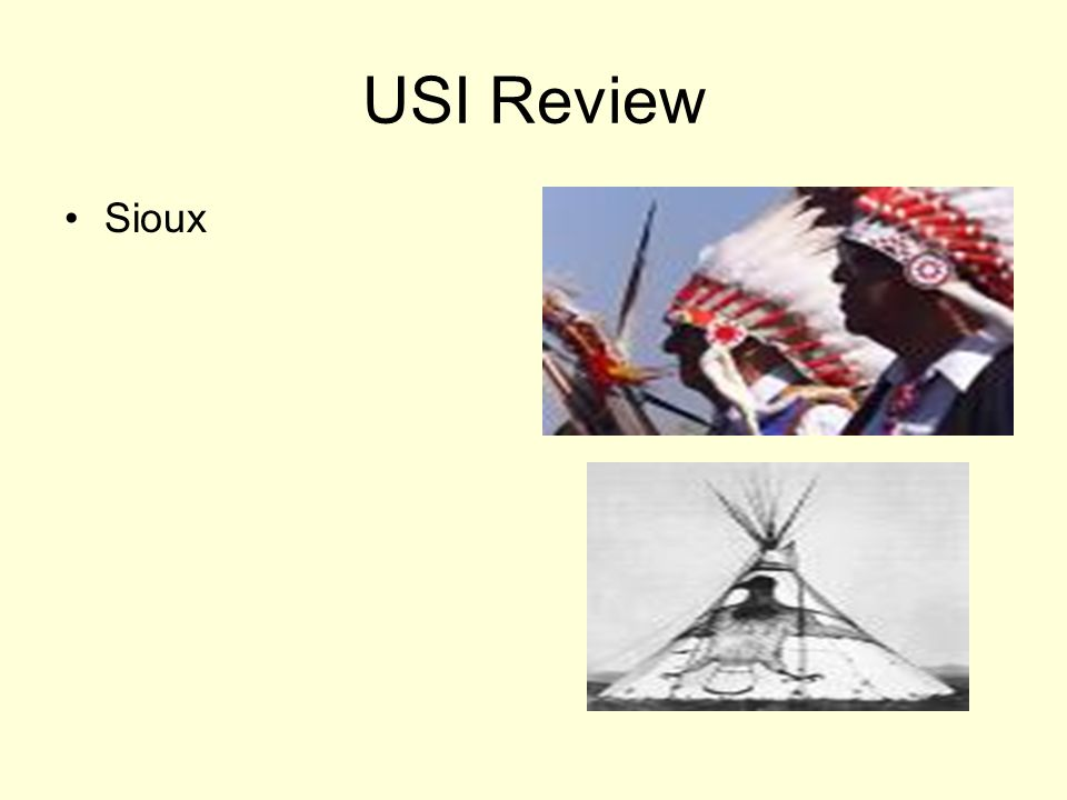 USI Review Sioux