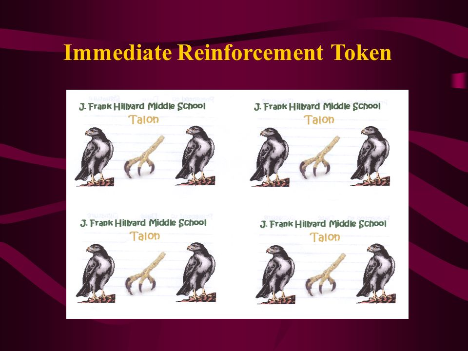 Immediate Reinforcement Token