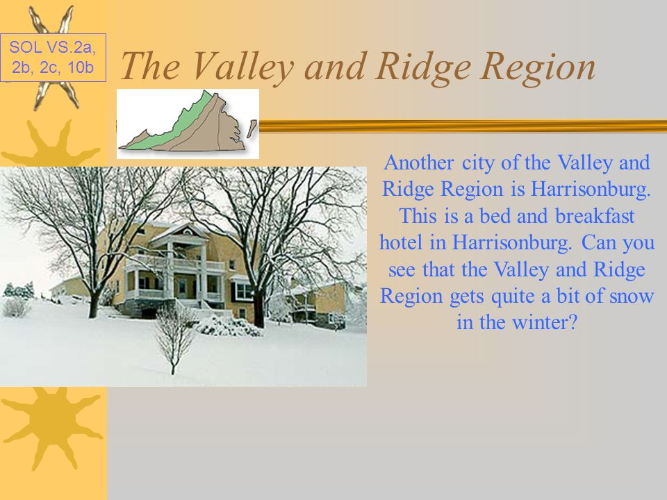 The Valley and Ridge Region