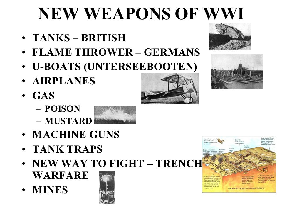 NEW WEAPONS OF WWI TANKS – BRITISH FLAME THROWER – GERMANS