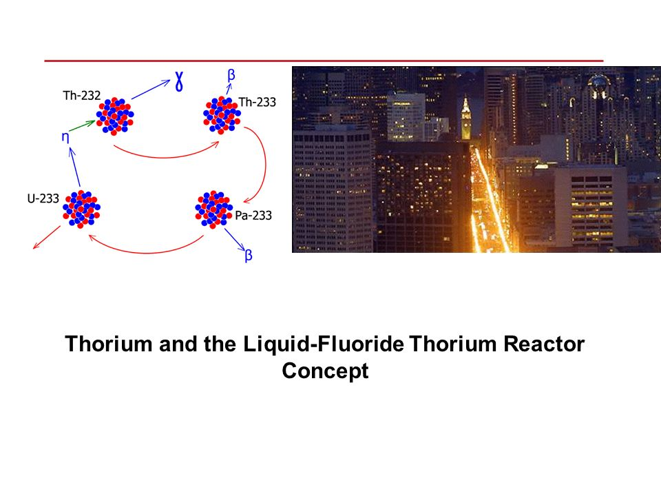 Thorium and the liquid fluoride thorium reactor concept ppt download 1 thorium and the liquid fluoride thorium reactor concept publicscrutiny Choice Image