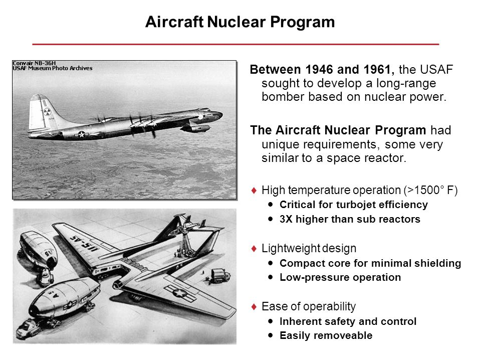 Aircraft Nuclear Program