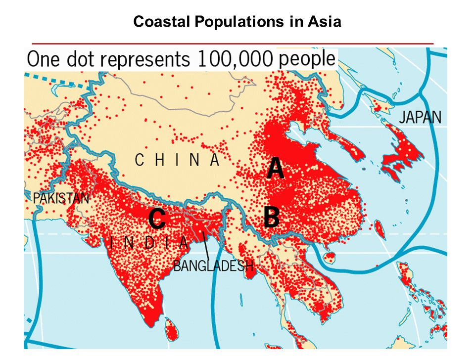 Coastal Populations in Asia