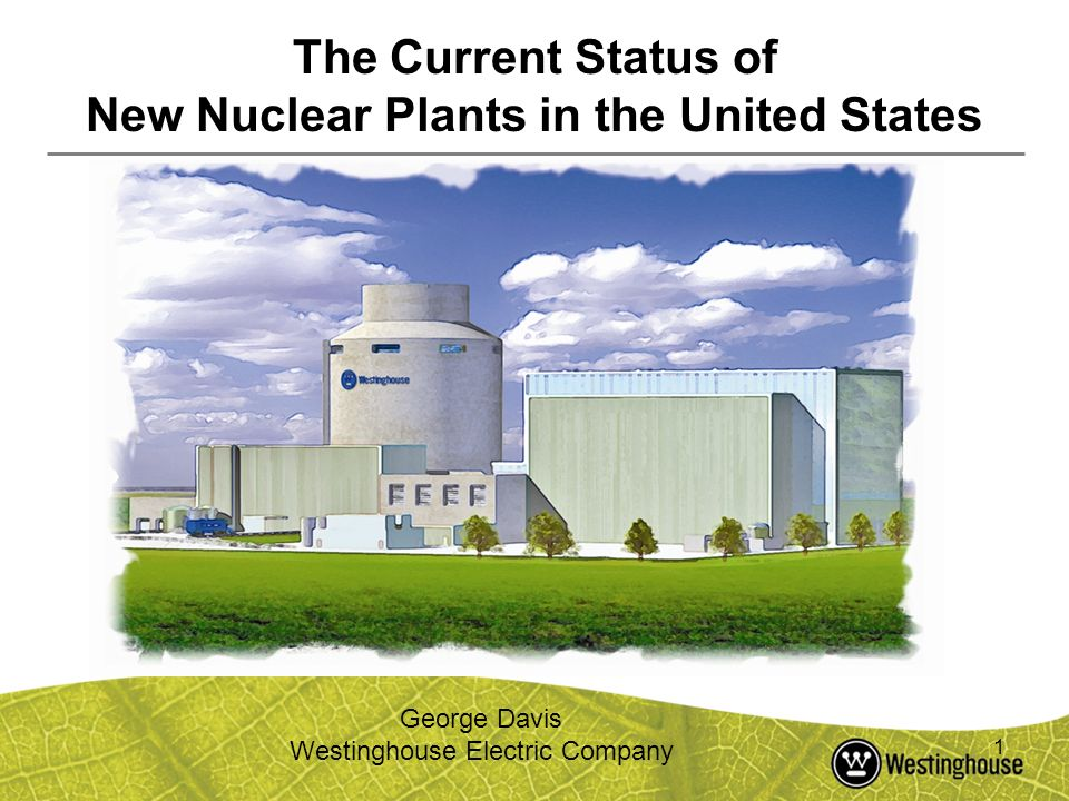 New Nuclear Plants in the United States