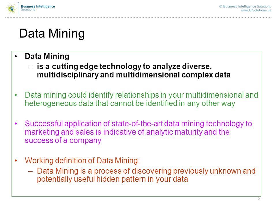 Data Mining Data Mining