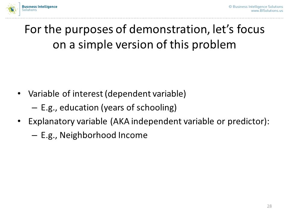 For the purposes of demonstration, let's focus on a simple version of this problem