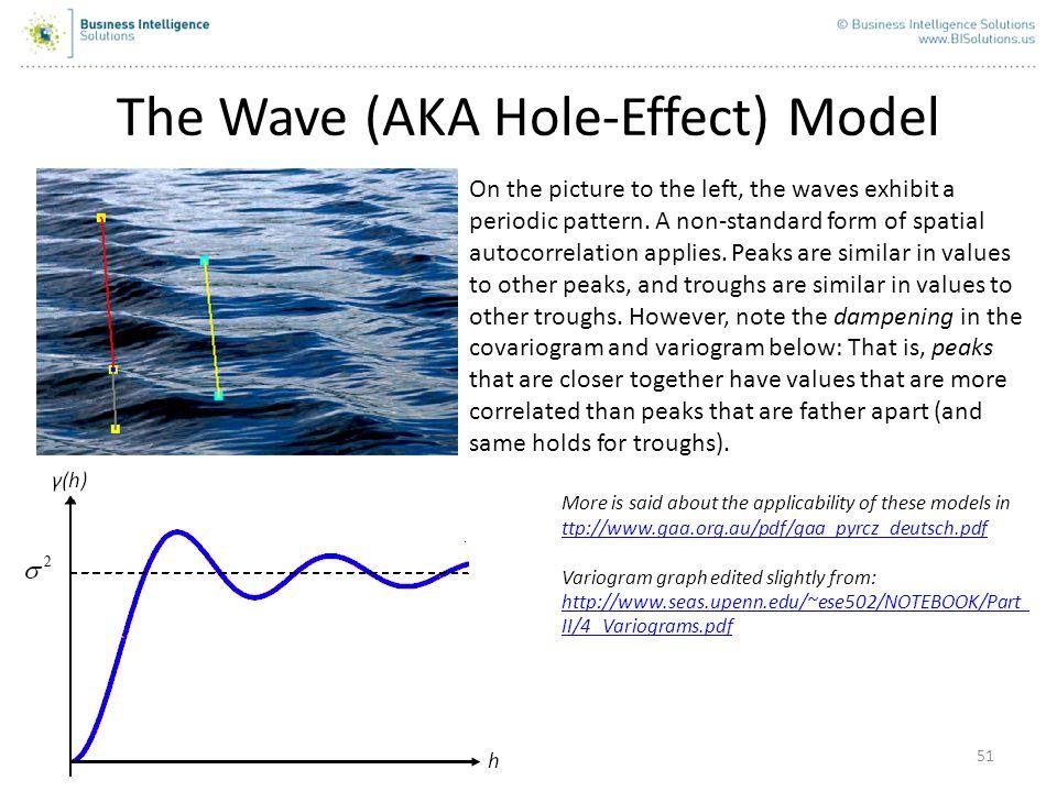 The Wave (AKA Hole-Effect) Model