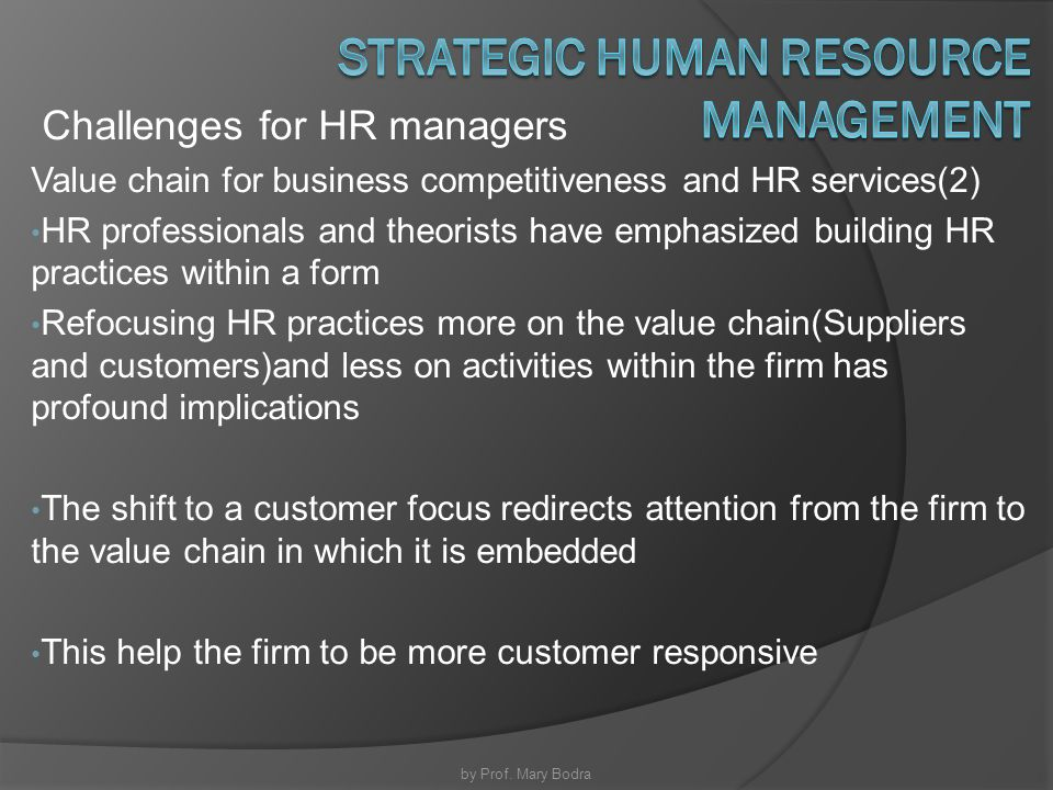 evolving human resource challenges at sony Fundamentals of human resource management tions face many challenges, such as the need to produce something that is both theoreti- 11 stages in the evolution and development of human resource management 7.