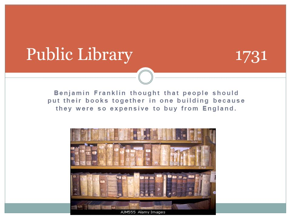 Public Library 1731
