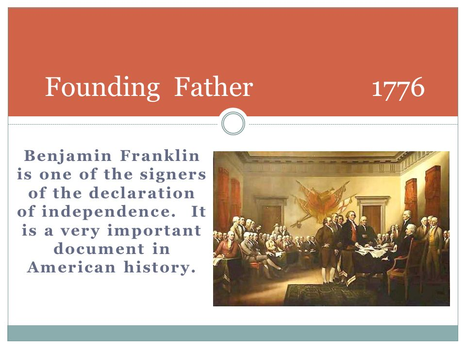 Founding Father 1776