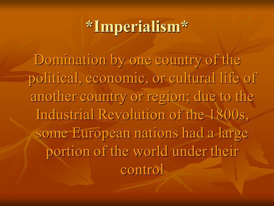 *Imperialism*