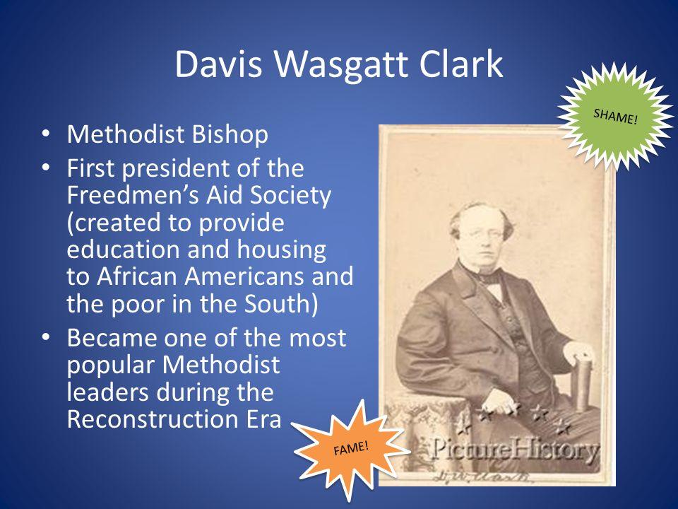 Davis Wasgatt Clark Methodist Bishop