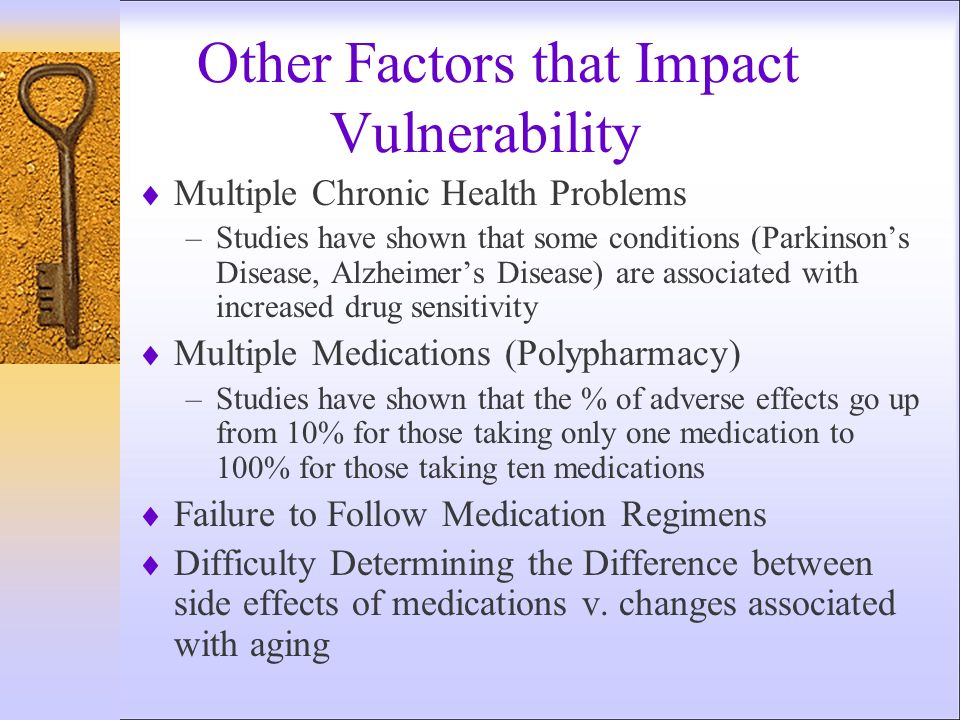 Other Factors that Impact Vulnerability
