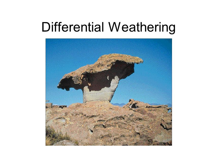 WEATHERING, EROSION & SOIL FORMATION - ppt download