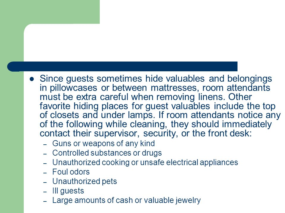 guest safety and security in hotels pdf