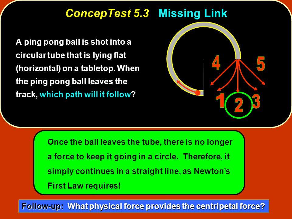 ConcepTest 5.3 Missing Link