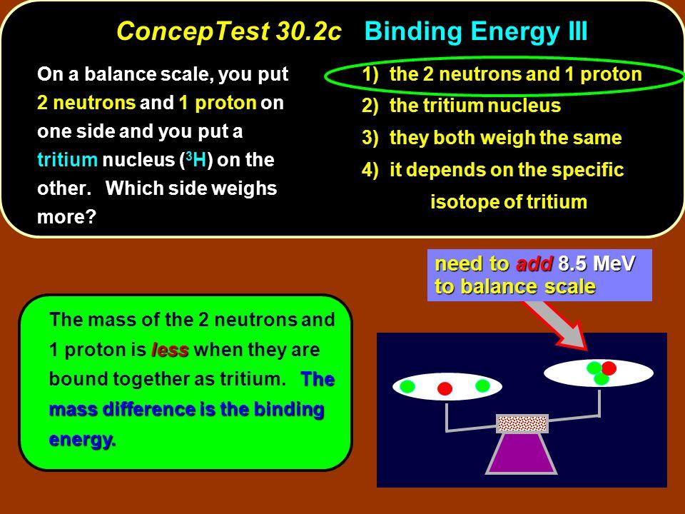 ConcepTest 30.2c Binding Energy III