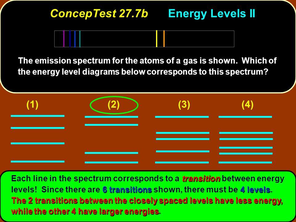 ConcepTest 27.7b Energy Levels II