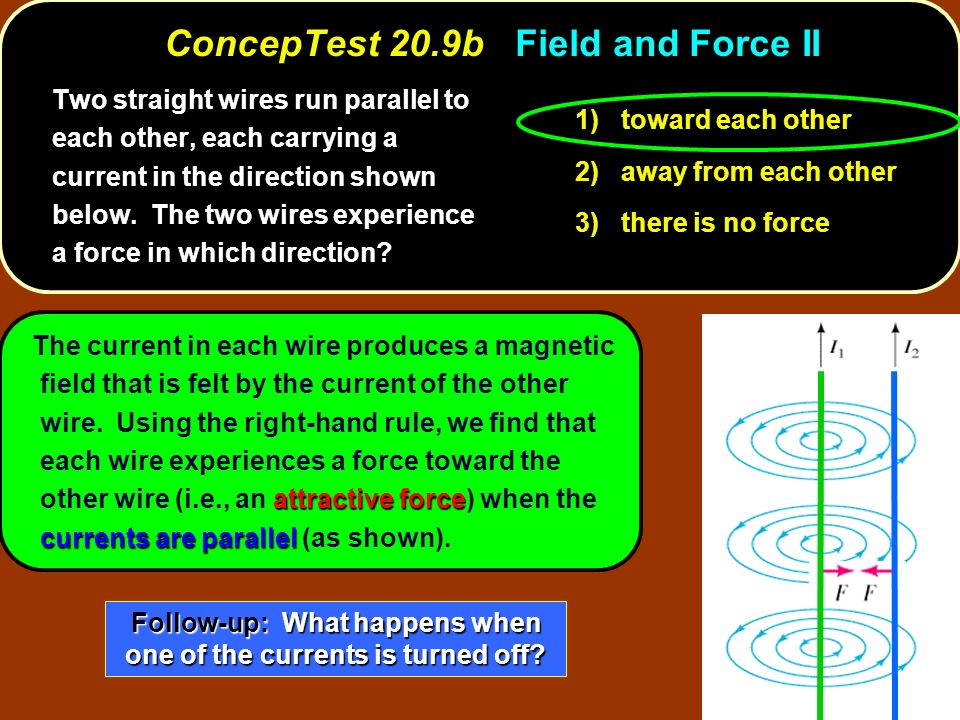 ConcepTest 20.9b Field and Force II