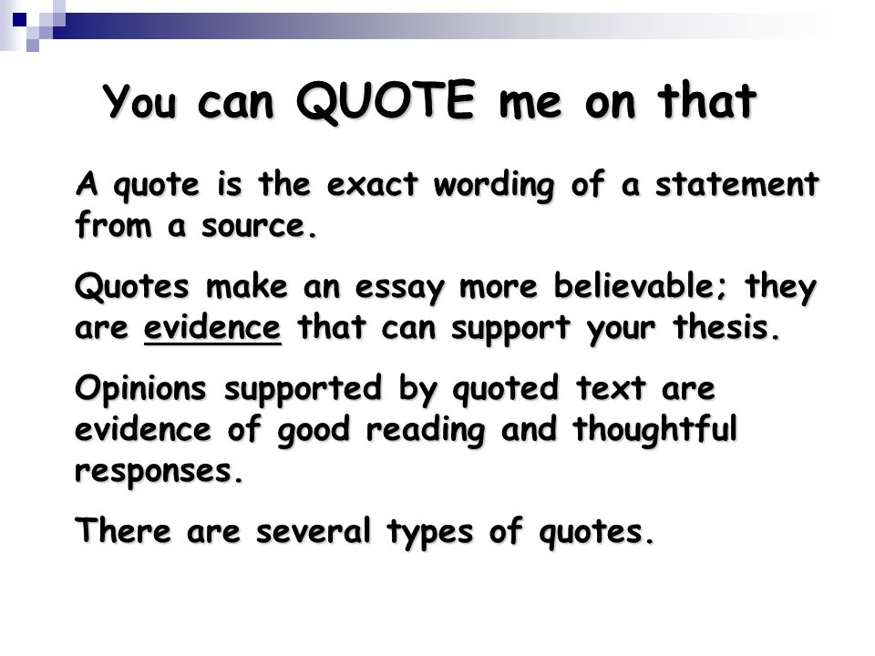 types of quotes in an essay A modest proposal and other satires this is perhaps the most famous line in the essay kissel, adam ed a modest proposal and other satires quotes and.