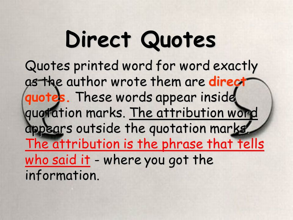 using quotations in essays powerpoint Using quotes in his presentation visuals is a uses so many powerpoint slides containing quotes quite tedious when a presenter reads a paragraph from a.