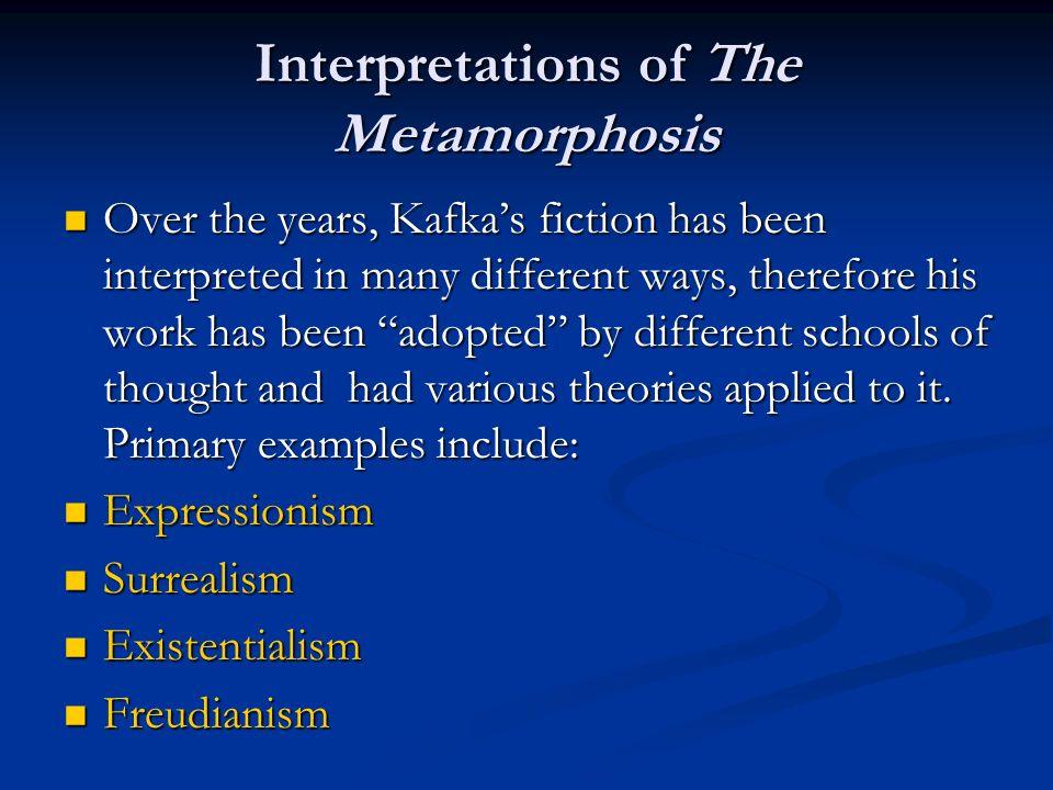 Interpretations of The Metamorphosis