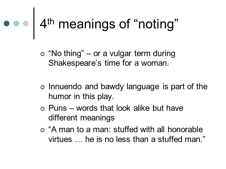 4th meanings of noting