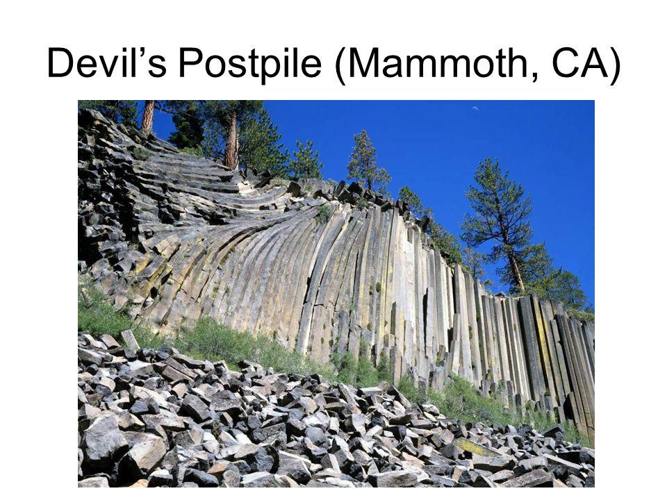 Devil's Postpile (Mammoth, CA)