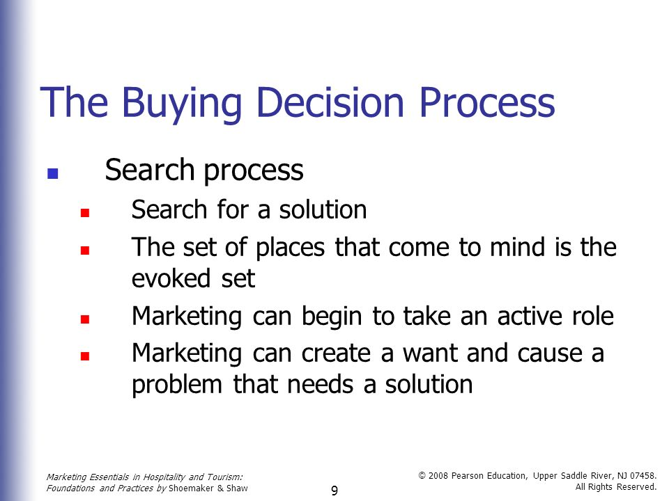 buying decision process for a house essay Marketing and buying decision essay  of making a decision of buying a house 1224  in the marketing psychological influences on the buying decision process.