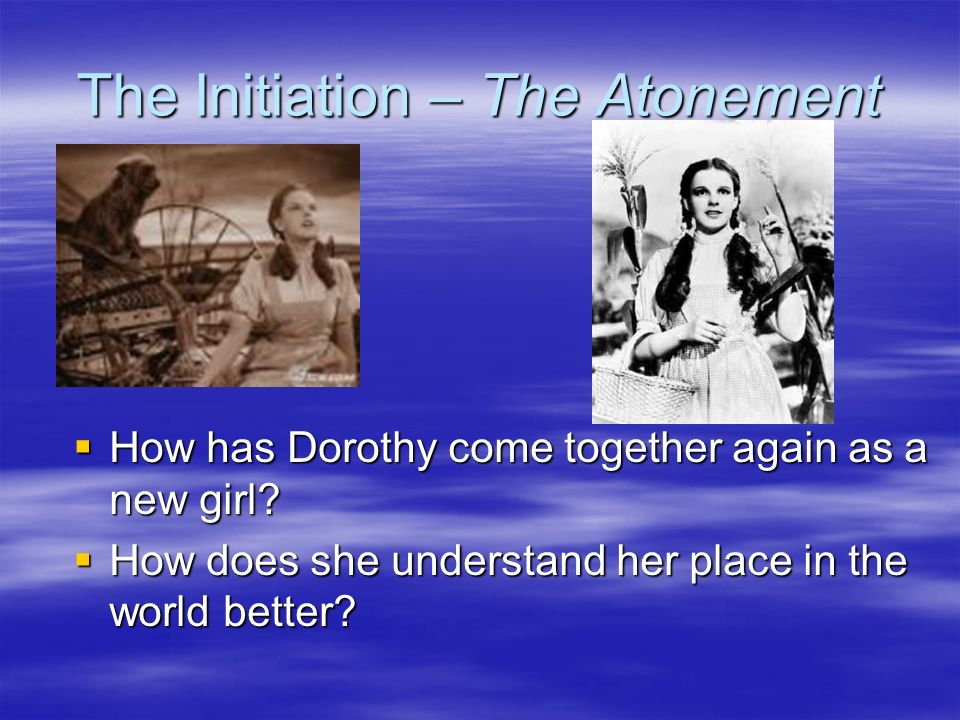 The Initiation – The Atonement
