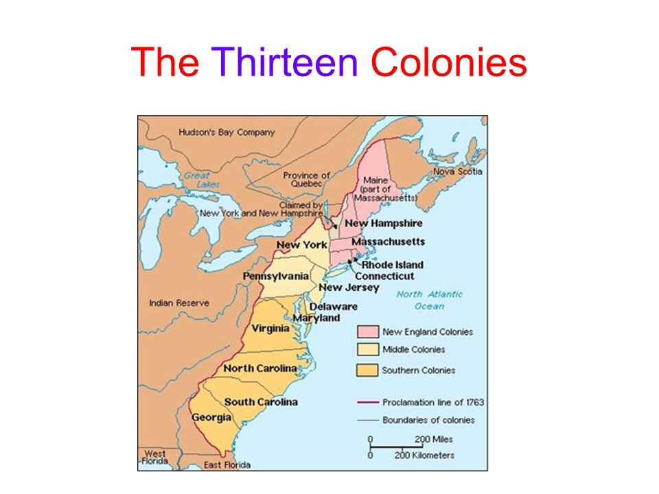 thirteen colonies and new england The thirteen colonies and the british empire economic and social beginnings of the thirteen colonies the slaverythe new england colonies rhode.