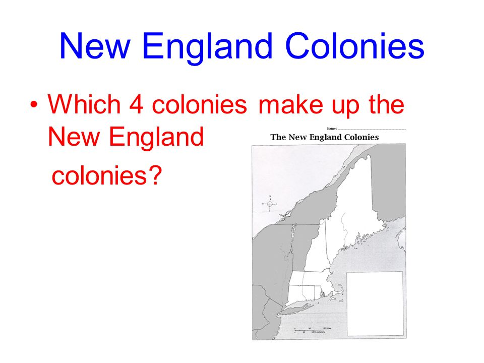 new england colonies In contrast to the southern colonies, which could produce tobacco, rice, and indigo in exchange for imports, new england's colonies couldn't offer much to england beyond fish, furs, and naval stores in spite of their shortcomings, the new englanders built a thriving mercantile network and a.