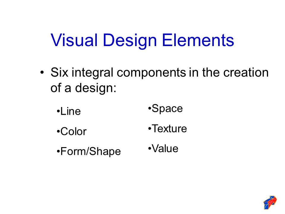 Visual Design Elements