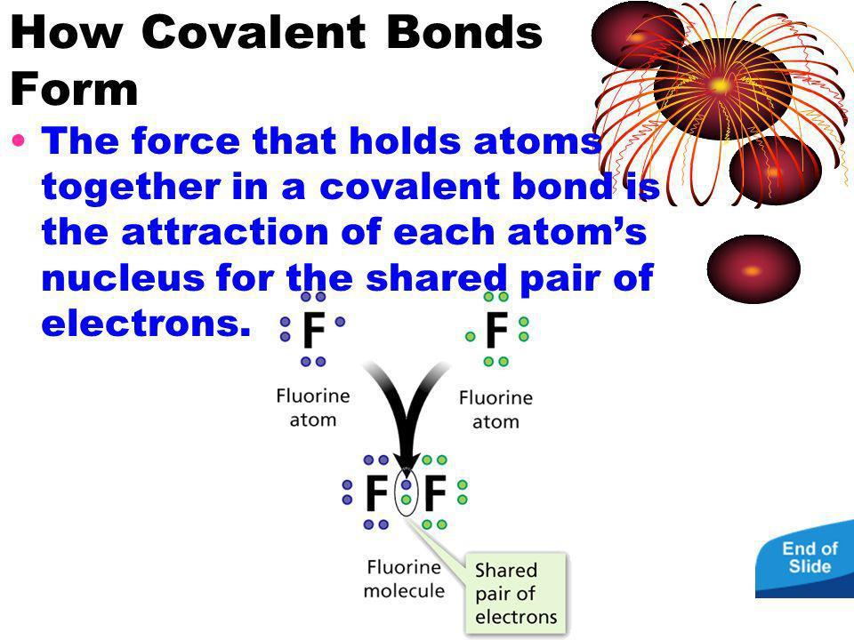 How Covalent Bonds Form