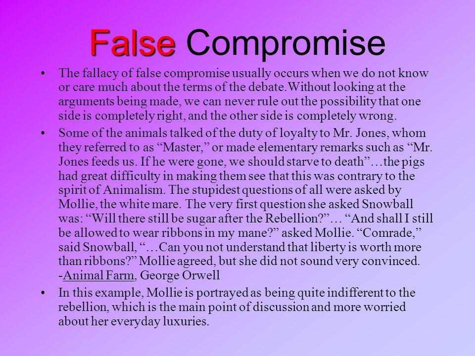 False Compromise