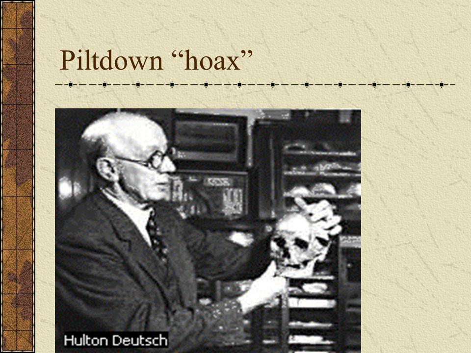 Piltdown hoax