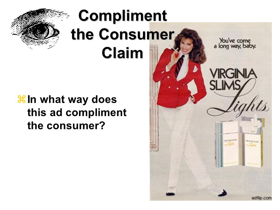 Compliment the Consumer Claim