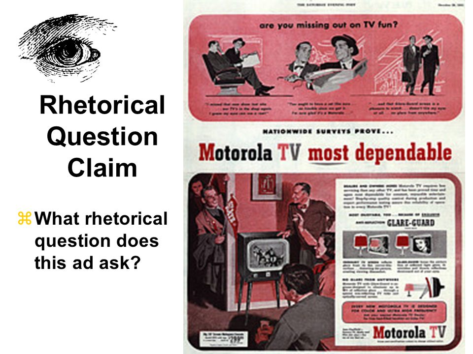 Rhetorical Question Claim
