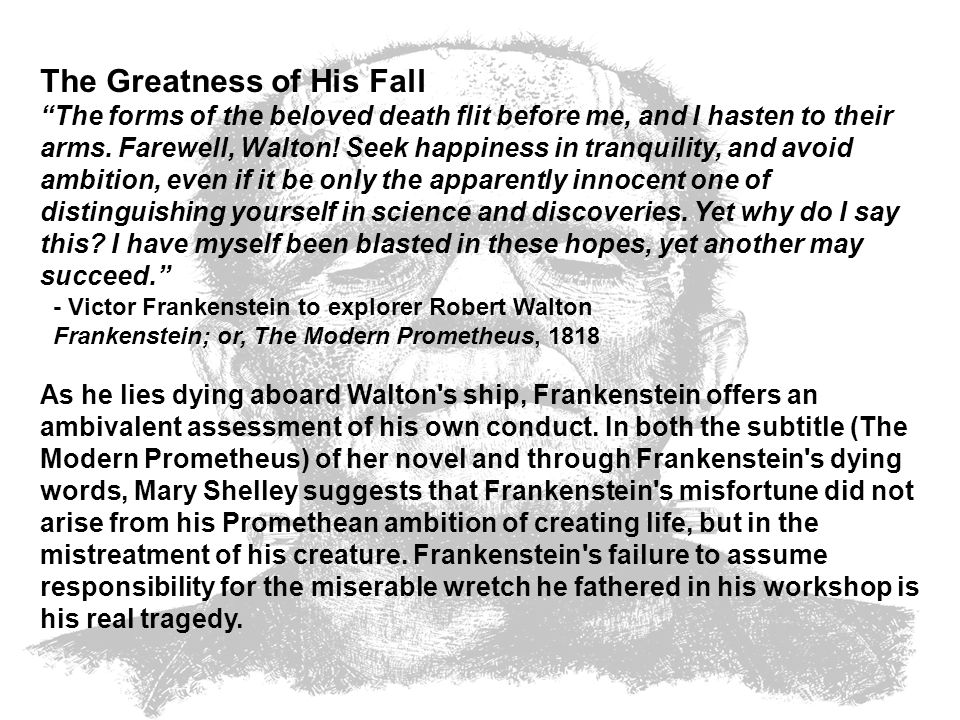 The Greatness of His Fall