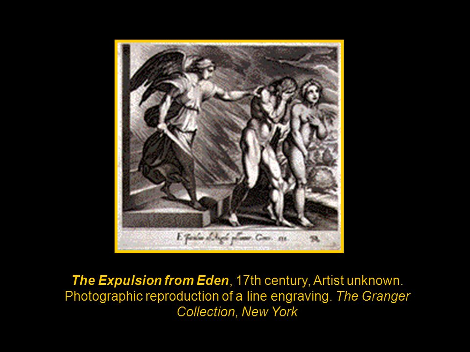 The Expulsion from Eden, 17th century, Artist unknown