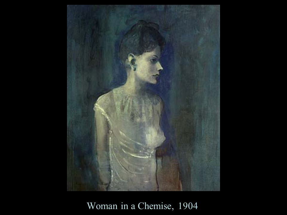 Woman in a Chemise, 1904