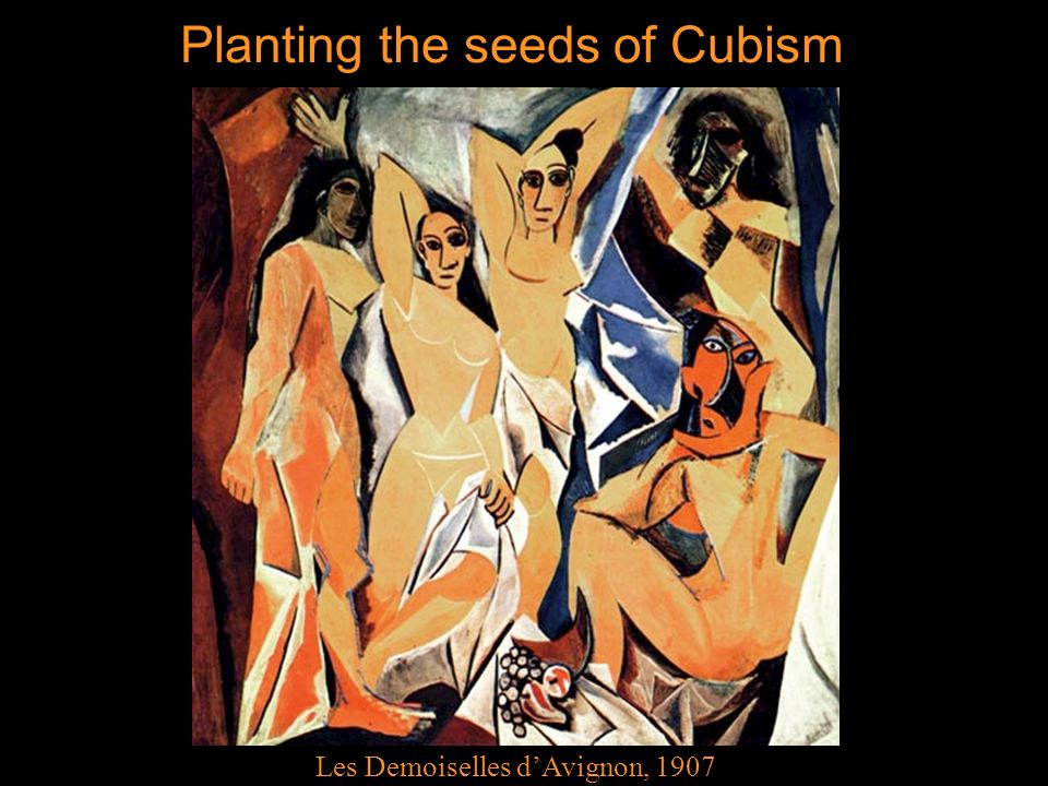 Planting the seeds of Cubism