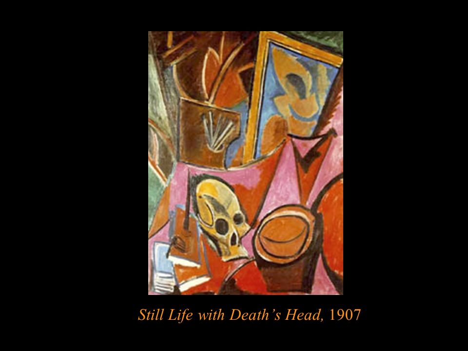 Still Life with Death's Head, 1907