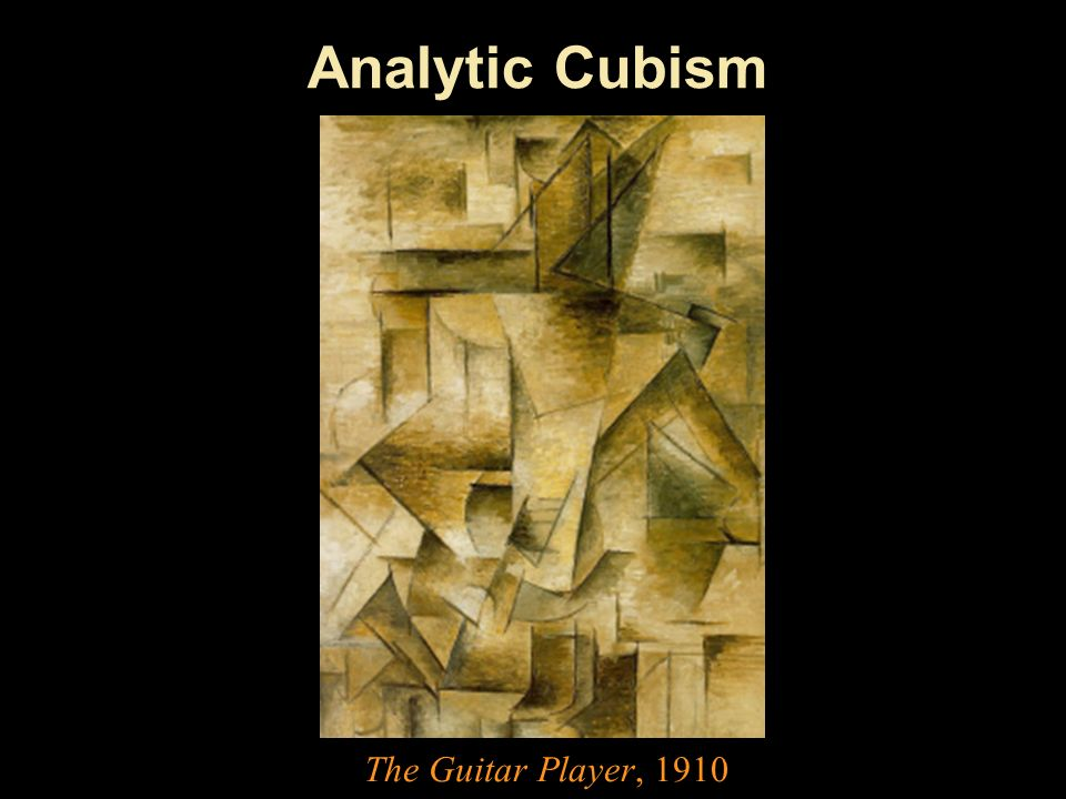 Analytic Cubism The Guitar Player, 1910