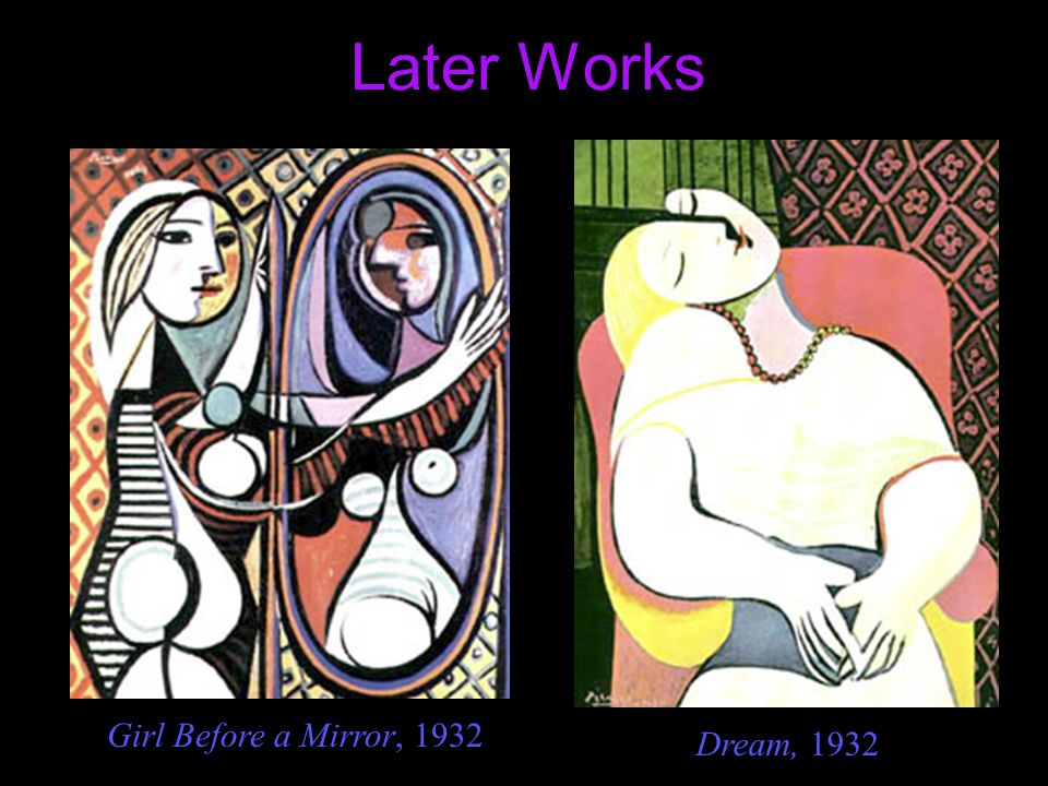 Later Works Girl Before a Mirror, 1932 Dream, 1932